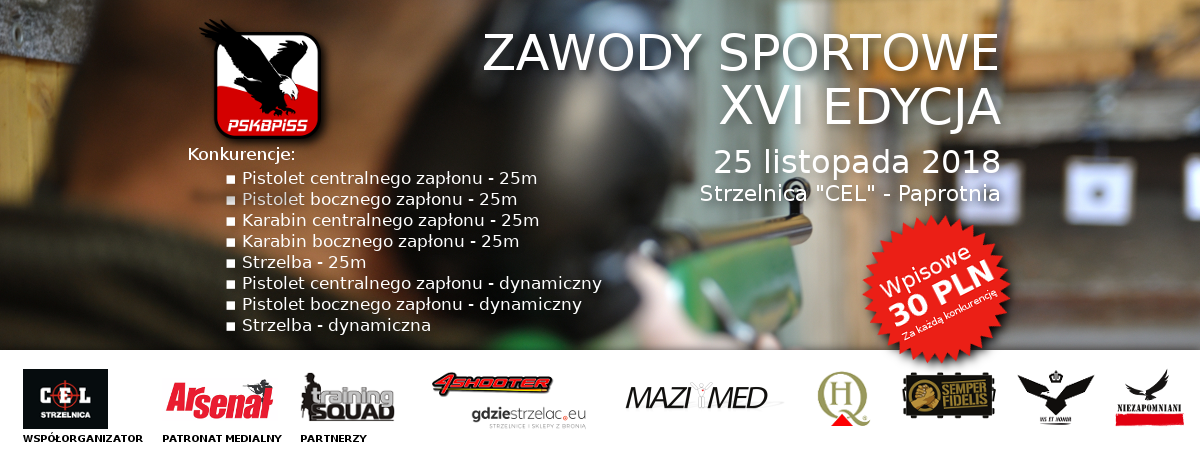 XVI Edycja Zawodów Sportowych.